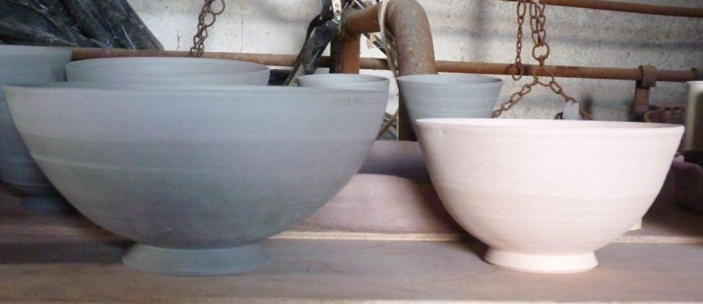 cuisson terre grès poterie