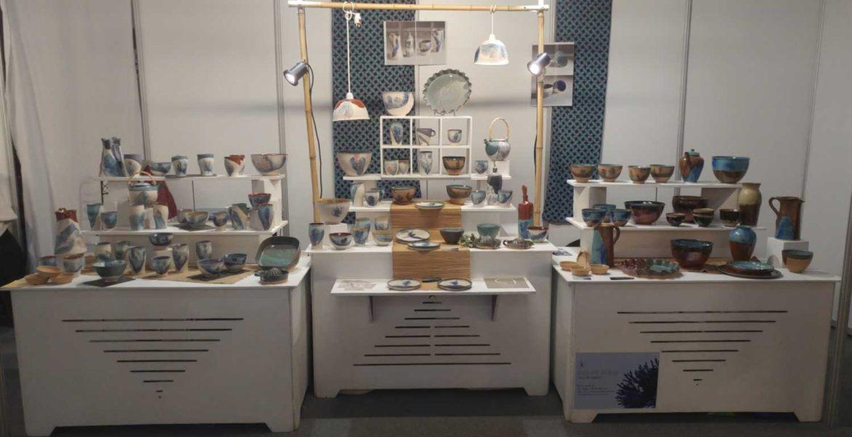 Marché de potiers, boutique, expositions